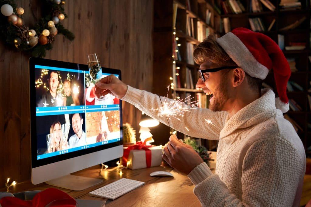 Celebrar la Navidad en remoto
