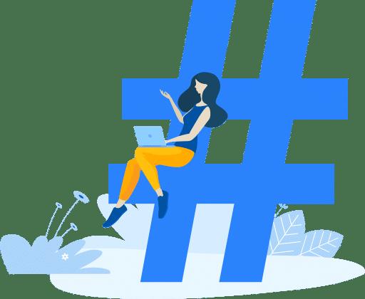 implementar hashtag