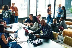Digital transformation of work and the digital workplace